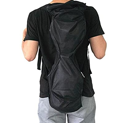 Portable Self Balancing Scooter Backpack - Boiling Glacier Waterproof & Wearproof Oxford Fabric Sports Bag for 6.5-inch Mini Two-wheel Smart Motion Sensing Electric Kick Scooter Board