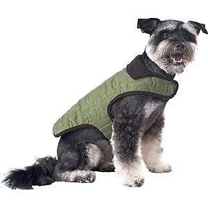 Amazon.com : Petco Pup Crew Green Quilted Bone Dog Jacket