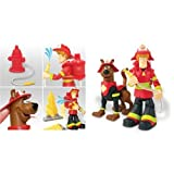 Scooby Doo! Scooby & Shaggy Firefighters Set