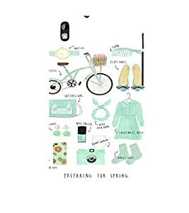 EPICCASE Spring is Coming Mobile Back Case Cover For HTC Desire 816 (Designer Case)