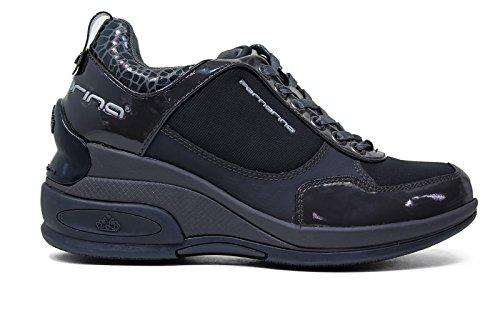 Fornarina PIFDY7615WVA0800 Sneakers Donna Vernice/tessuto Grigio Grigio 39