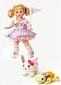 """Madame Alexander Dolls, 8"""" Tortoise and the Hare, Storyland Collection"""
