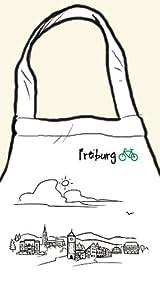 """Kochschürze/Grillschürze """"Skyline Freiburg"""" - als Geschenk für Breisgauer & Fans der Stadt am Fuss des Schwarzwalds oder als Freiburg Souvenir - die stadtmeister"""