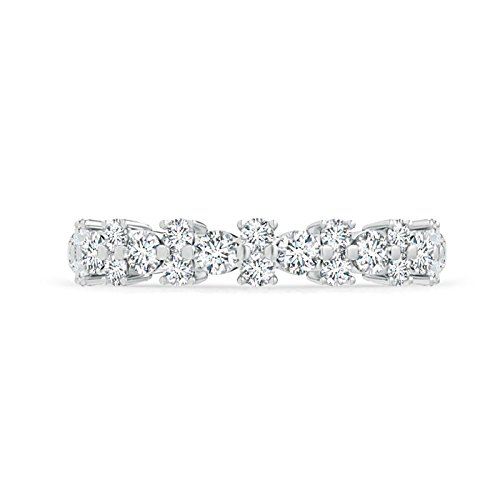Купить со скидкой Garland Round Diamond Eternity Wedding Band