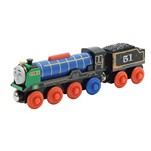 com: Thomas And Friends Wooden Railway - Patchwork Hiro: Toys & Games