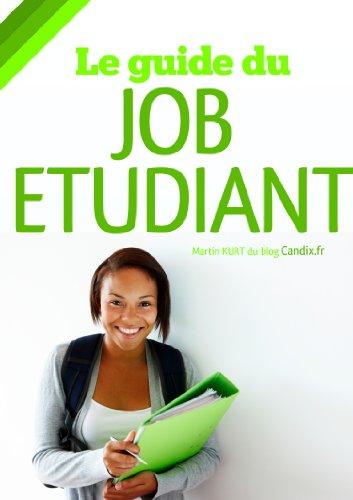 Couverture du livre Le guide du job etudiant