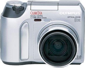 OLYMPUS Camedia C-725 Ultra Zoom Digital Camera