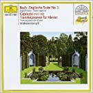 Bach: English Suite No.3. Capriccio Bwv 922, Transcriptions