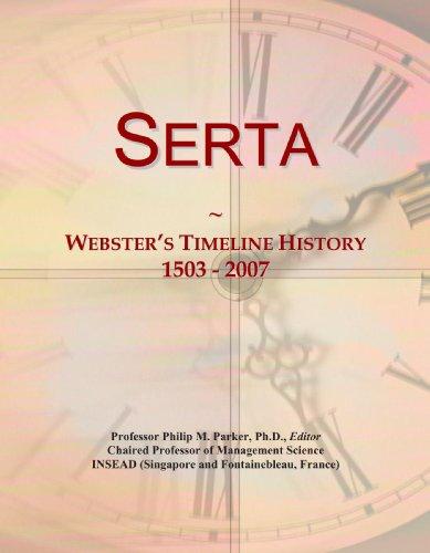 serta-websters-timeline-history-1503-2007