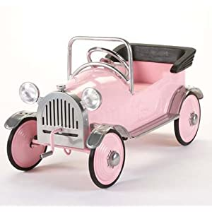 Airflow Pink Princess Pedal Car