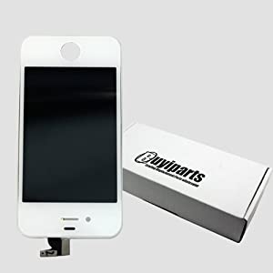 Iphone 4s Replacement Part - White LCD Touch Screen and Digitizer Assembly with Safty Box for Iphone 4s At and t Verizon Cdma GSM