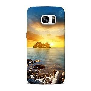 KK Case Top Notch Hard Fancy Designer Back Cover For Samsung Galaxy S7 - Design -220