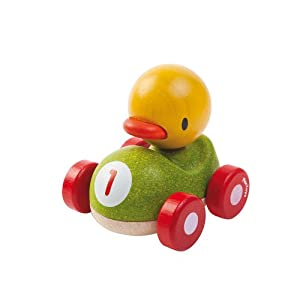 PlanToys - Pato el Piloto, coche de juguete (5678) marca PlanToys en BebeHogar.com