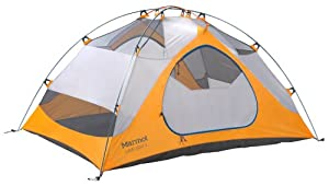 Marmot Limelight 3 Persons Tent, Orange, One