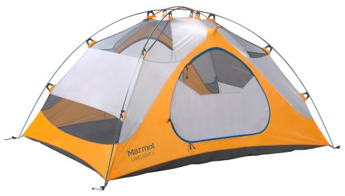 Marmot Limelight 3 Persons Tent, Orange, One, Outdoor Stuffs