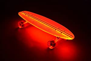 Buy Flexdex Light up Skateboard Transparent 29 by Flexdex