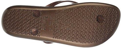 Ipanema Women's Neo Clara Flip Flop, Bronze/Pink, 9 M US
