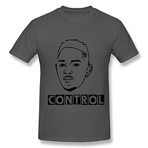 Custom Made Mens Shirt/Head Portrait Kendrick Lamar front-968678