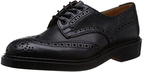 [トリッカーズ] Tricker's Tricker's Full Brogue Derby Shoe / KESWICK - MC & Gorse -  (Double Leather Sole) M7292-19 BLACK MC(BLACK MC/7)