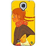 YP Kid Girl Design Hard Back Case Cover For Samsung Galaxy S4 Mini