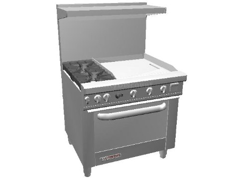 Small Gas Stove Oven front-558966