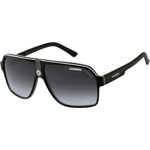 Price Comparisons For Carrera 33 S Adult Aviator Plastic Designer Sunglasses Black Crystal Gray Dark Gray Gradient Size 62 11140