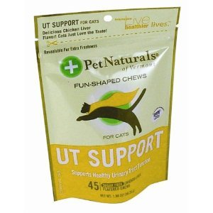 Pet Naturals Of Vermont Ut Support For Cats Chews