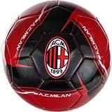 2013 AC Milan Soccer Ball- Home Silver#5