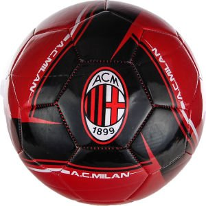 Amazon.com : 2013 AC Milan Soccer Ball- Home Silver#5 : Sports