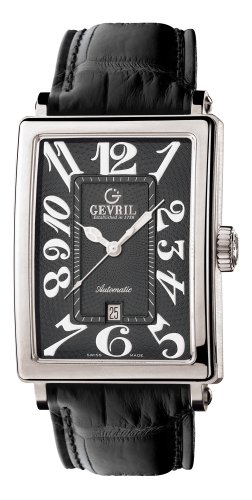 Gevril Men's 5002 Avenue of Americas Automatic Date Watch