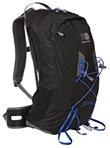 Karrimor Unisex Adult Airspace 22 Airspace 22  - Black/Soft Grey/Dazzling Blue, One Size Litres