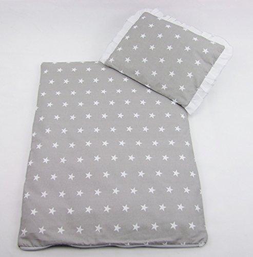 Rawstyle 2 di Natale a forma di Set rivestimento per Set di passeggino lenzuola coperta + cuscino nuova e in confezione originale 31 colori