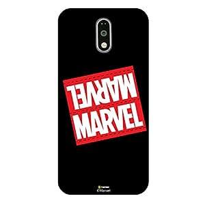 Hamee Marvel Civil War Captain America Iron Man Licensed Hard Back Case Cover For Motorola Moto G4 Plus / G Plus 4th gen. Cover - Design 21