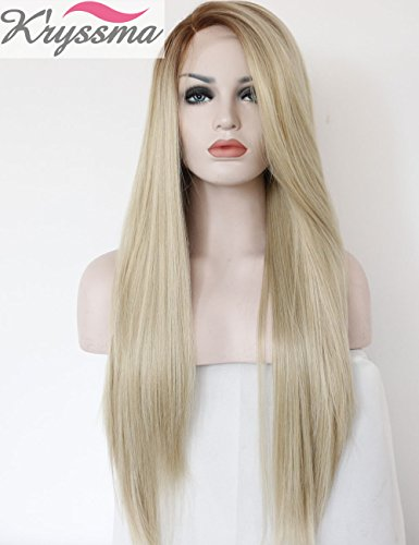 kryssma-fashion-ombre-blonde-glueless-lace-front-wigs-2-tone-color-brown-roots-side-part-long-natura