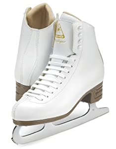 Jackson Mystique Ice Skates - JS1491 Girls White Figure Ice Skates by Jackson