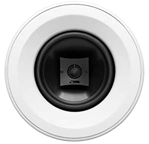 Boston Acoustics HSi 480 8- Inch In-Ceiling Speaker (White)