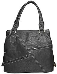 Deepsum Black Casual Handbag