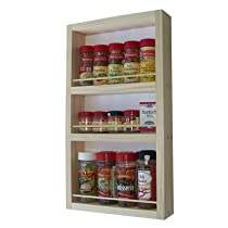 On the Wall Spice Rack Size: 21