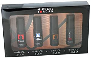 Michael Jordan Variety Men Gift Set (Michael Jordan Cologne, Jordan Cologne, Legend Cologne, Flight Cologne)