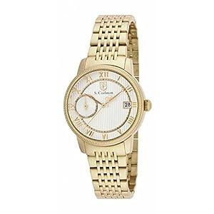 Invicta S. Coifman SC0338 32mm Gold Steel Bracelet & Case flame fusion Women's Watch