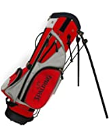 Spalding Sac de golf trépied Junior Noir/rouge/blanc