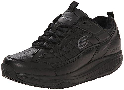 Skechers for Work Men`s Shape Ups Exeter Work Shoe, Black, 8 M US