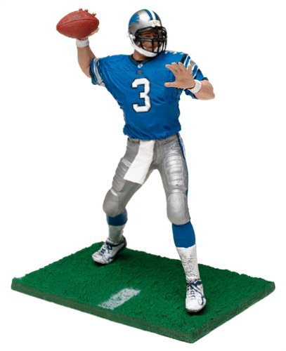 NFL Series 6 Figure: Joey Harrington #3 in Detroit Lions Jersey (Blue) by McFarlane's Sportspicks - 1