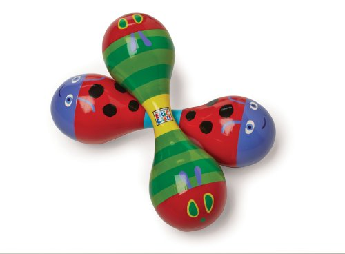 World of Eric Carle, The Very Hungry Caterpillar Wood Maraca by Kids Preferred