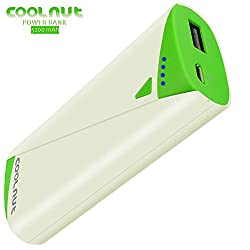 COOLNUT USB Power Bank 5200mAh External Battery Charger for Mobile & Smartphone like Coolpad,HTC,lenovo,Samsung,Redmi other