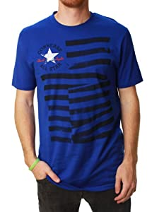 Converse Allstar Men's Star & Stripes Graphic T-Shirt-Small