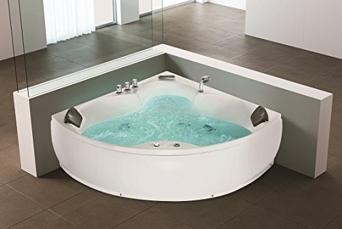 whirlpool baignoire d 39 angle jacuzzi monaco avec 12 jets. Black Bedroom Furniture Sets. Home Design Ideas