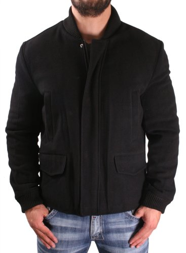 Kenneth Cole New York Men's Wool Bomber Jacket