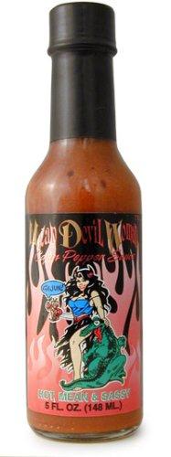 Mean Devil Woman Hot Sauce, 5 fl oz