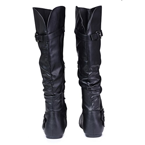 twisted s shelly wide width wide calf faux leather